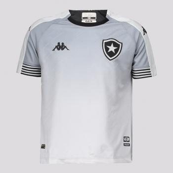 Camisa Kappa Botafogo Goleiro I 2021 Juvenil