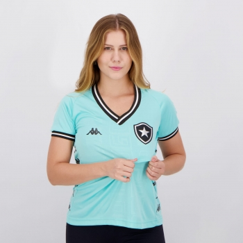 Camisa Kappa Botafogo Goleiro III 2019 Feminina