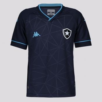 Camisa Kappa Botafogo Goleiro IV 2021 Infantil