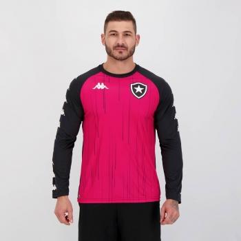 Camisa Kappa Botafogo Goleiro Treino 2021