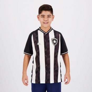 Camisa Kappa Botafogo I 2019 Juvenil