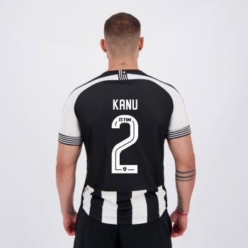 Camisa Kappa Botafogo I 2021 2 Kanu