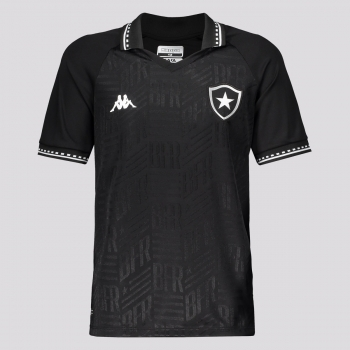 Camisa Kappa Botafogo II 2021 Juvenil