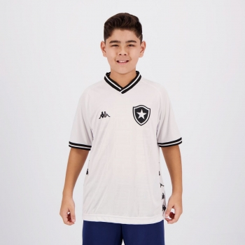 Camisa Kappa Botafogo III 2019 Juvenil