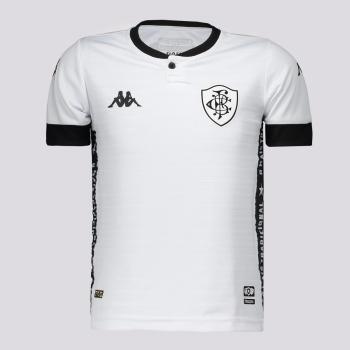 Camisa Kappa Botafogo III 2021 Infantil