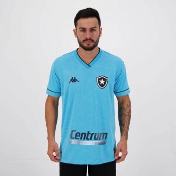 Camisa Kappa Botafogo IV 2021 Com Patrocínio
