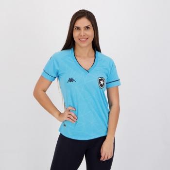 Camisa Kappa Botafogo IV 2021 Feminina