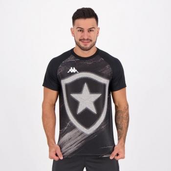 Camisa Kappa Botafogo Supporter Chumbo