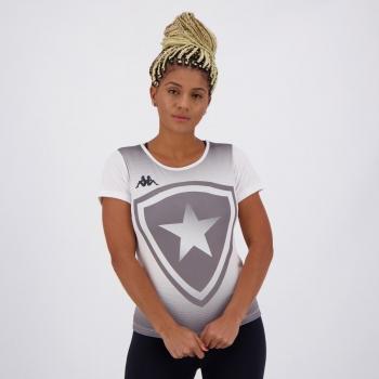 Camisa Kappa Botafogo Supporter Feminina Branca
