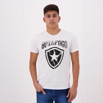 Camiseta Botafogo Escudo Branca