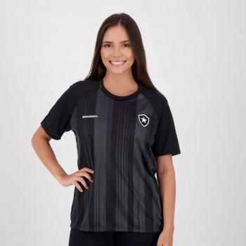 Camiseta Botafogo Essentials Feminina Preta