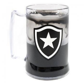 Caneca Gel Botafogo Escudo Preta
