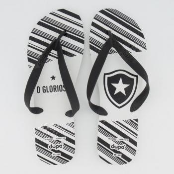 Chinelo Botafogo Escudo Branco