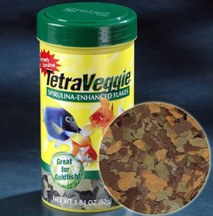 Tetra Veggie Spirulina - Enhanced Flakes 052 Grs