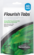 Seachem Flourish Tabs Cx. c/  40 tabletes 120 grs