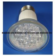 FLC lâmpada 20 leds JDR-E27 (rosca) azul 1.5w - 110v (Simula luz lunar) ( B13 )