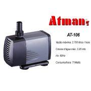 Atman Bomba Sub. - AT-106 - 2700 L/H - Coluna  3,2 m  - 220V