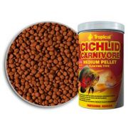 Tropical Cichlid Carnivore Medium Pellet 360g