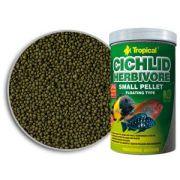 Tropical Cichlid Herbivore Small Pellet 360g