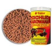 Tropical Cichlid Arowana Medium Sticks 360g