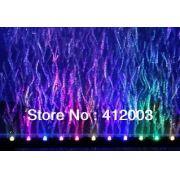 Jy Aqua Cortina de ar com luz de led LQ-250 (10 leds coloridos) 25 cm ( COR )