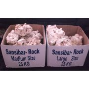 Rochas sansibar - saco fechado 25 Kg (grandes)