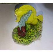 Enfeite de resina Yellow tang md (L) Preço de custo