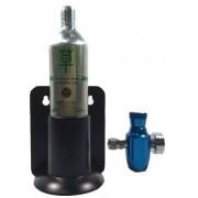 Macro Aqua Sistema CO2  90 grs c/ Válvula Ajuste Fino  (PROMOÇÃO)(L)