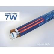 SKRW Lampada Led T8 07W 45 cm ( Azul )( Novidade )