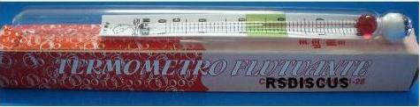 Delfim Termometro de Vidro Grande 12 cm