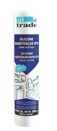 Sil Trade - Silicone 300 grs ( PRETO )