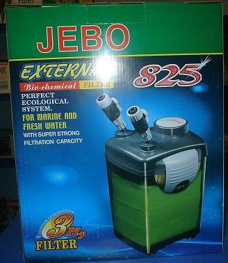 Jebo Filtro Canister 1000L/H 825 (copo verde)  - 110V