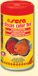 Sera Discus Color Red 116 Grs