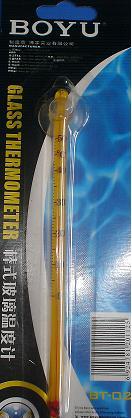 Boyu Termometro BT-02  Fino de Vidro