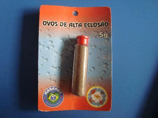Maramar Ovos de Artemia c/  Casca 5grs para Eclosao