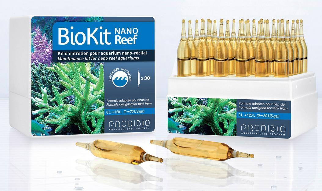 Prodibio BioKit Nano Reef - 30 Ampolas