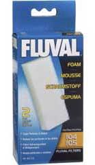 Hagen Fluval Foam 104/105 ( Pack 2 unidades )  ( A-220 ) (L) Preço de Custo