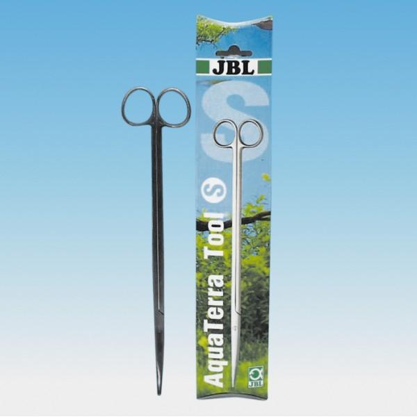 JBL Aquaterra Tool S ( Tesoura Curva de Aco Cirurgico ) 28 cm