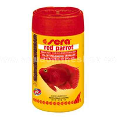 Sera Red Parrot 80 grs