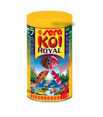 Sera Pond Koi Royal 800 gr. - Grão Medio