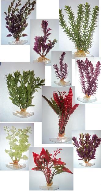 Polen Planta Artificial Média 20 cm (unitário - não há como escolher cor e forma vai aleatório)