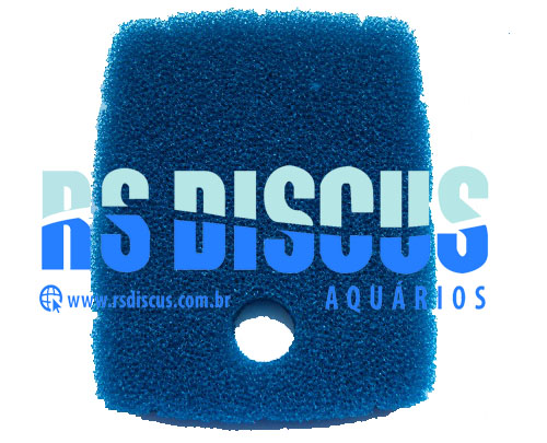 Jebo espuma azul de resposição p/ Canister