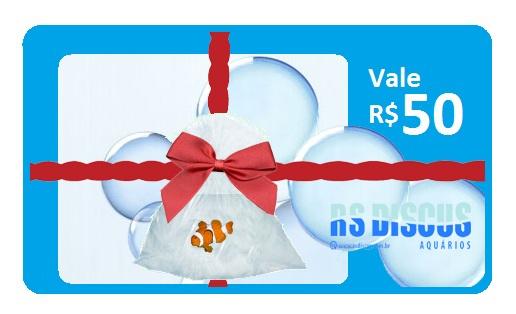 RsDiscus Vale Presente de R$ 050,00