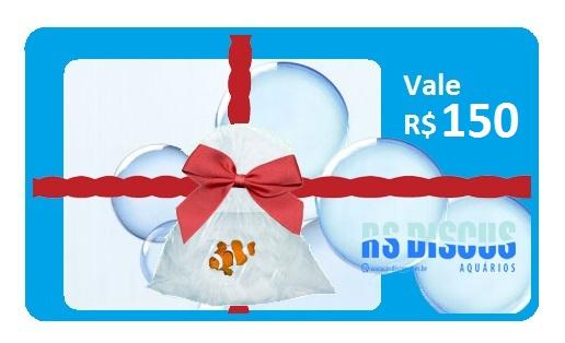 RsDiscus Vale Presente de R$ 150,00