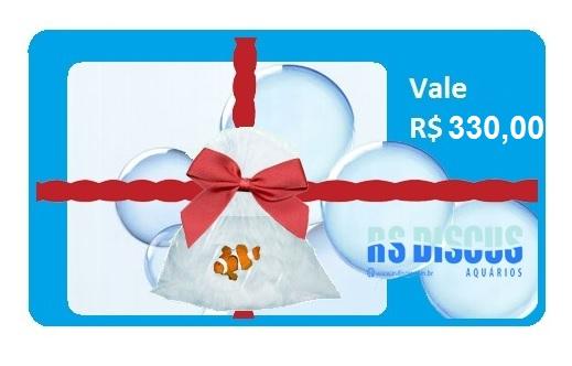 RsDiscus Vale Presente de R$ 330,00