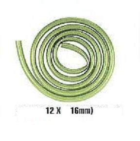 Jebo Mangueira verde green tube 12/16mm  ( 1 Metro )