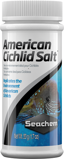 Seachem American Cichlid Salt 050 grs (INT) Preço de Custo