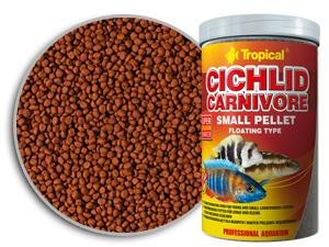 Tropical Cichlid Carnivore Small Pellet 090g