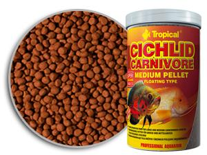 Tropical Cichlid Carnivore Medium Pellet 180g