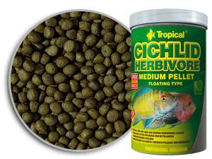 Tropical Cichlid Herbivore Medium Pellet 360g